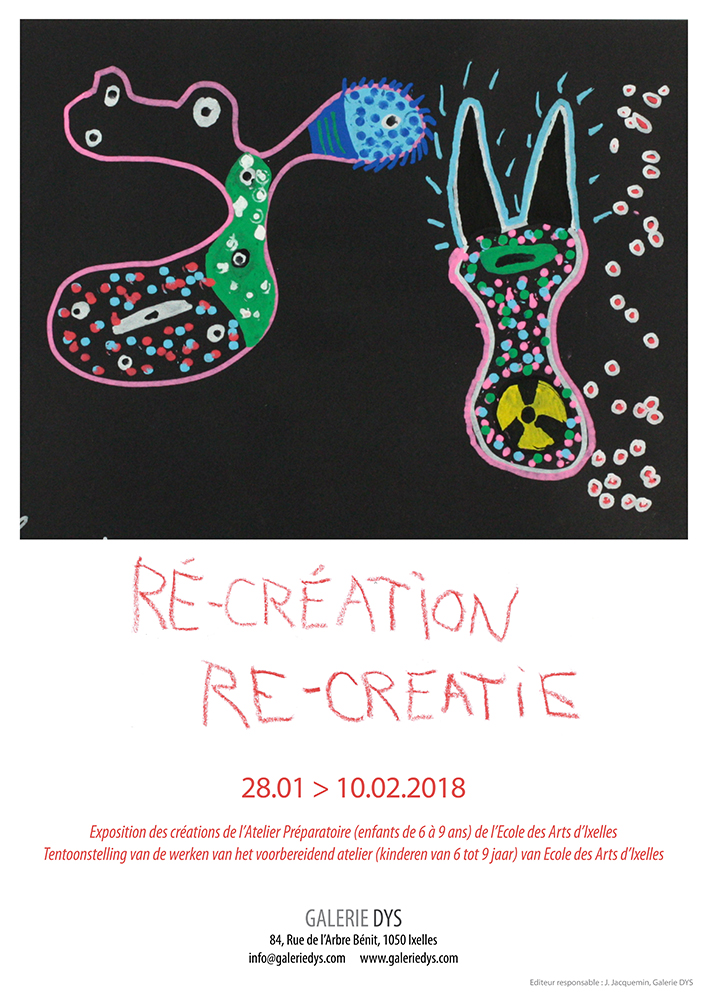 Affiche de l'exposition Re-Creation