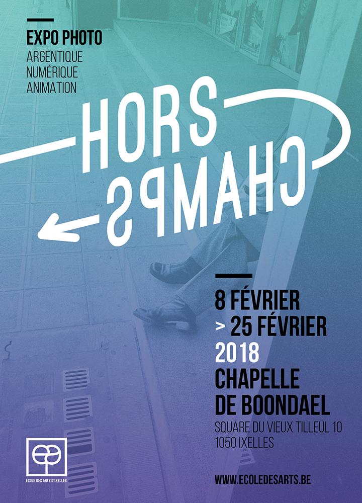Affiche de l'exposition Hors-Champs